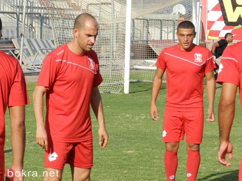 جازال وفراس مغربي في مباراة ودية