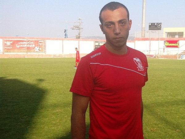 اللاعب احمد ابو ناهية