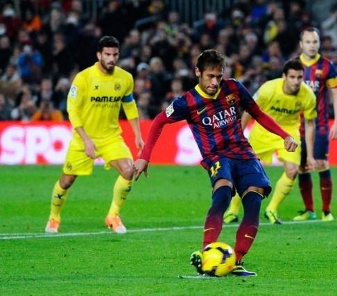 النجم نيمار لاعب برشلونة