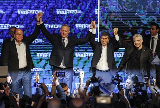 Photo of حزب ابيض ازرق يقرّ بهزيمته في الانتخابات