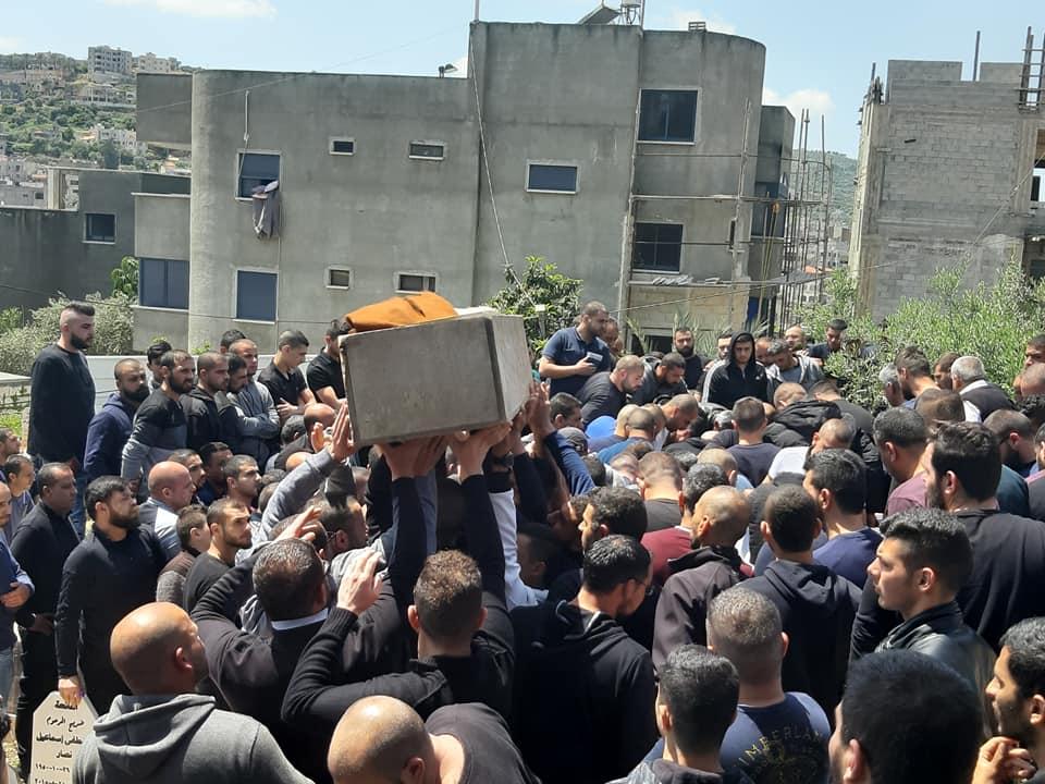 Photo of عرابة : مشاركة واسعة في تشييع جثمان الشاب فراس ياسين