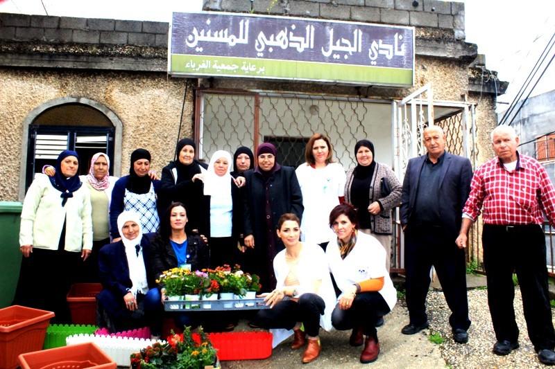 Photo of مسنو عرابة يشاركون في يوم الاعمال الخيرية