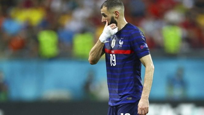 النجم الفرنسي كريم بنزيمة